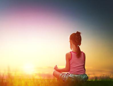 Yoga für Kinder - Kind macht Yoga