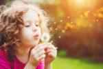 Yoga für Kinder - Pusteblume