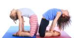 Kinderyoga Stundenbilder - Kinder machen Yoga