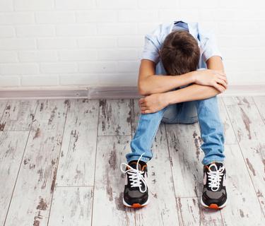Karma Kids Yoga Sad Teenager