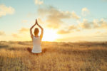 Karma Kids Yoga - Woman Sunset