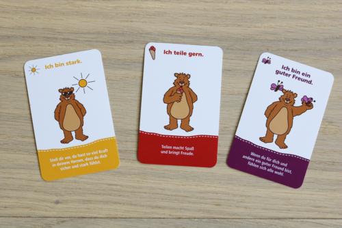 Yoga für Kinder - Affirmationskarten