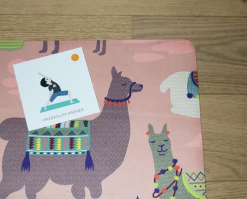 Manduky Yoga Karten für Kinder Parcours